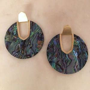 Kendra Scott Diane Abalone Shell Earrings